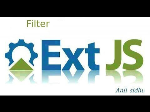 Sencha Ext Js Tutorial #13 How To Use Filters