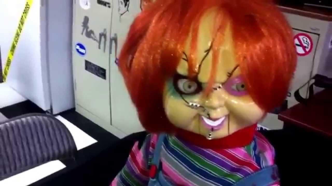 Talking Chucky Doll Bride Of Chucky Version Youtube