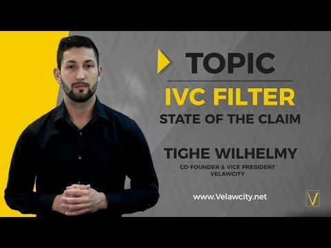 IVC Filter Lawsuit | State of the Claim