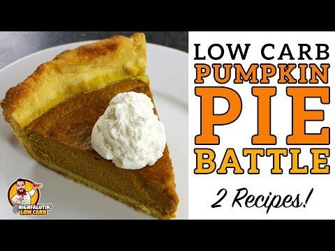 Low Carb PUMPKIN PIE BATTLE The BEST Keto Pumpkin Pie Recipe! Lowcarb Thanksgiving Recipe