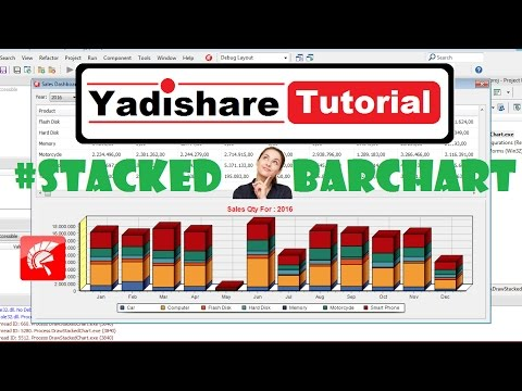How To Draw Stacked Bar Chart Using Teechart And MySQL From The Code