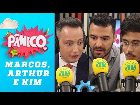 Arthur do Val e Kim Kataguiri  - Panico JovemPan - 05/04/2018