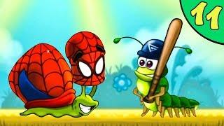 Несносный УЛИТКА БОБ 3. Серия 11. Игра Snail Bob 3 на канале Игрули TV