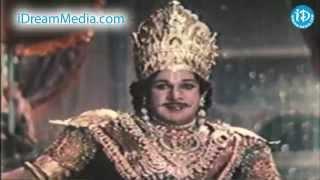 Karna Movie - NTR, Sivaji Ganesan, S A Asokan Rayabaram Nice Scene