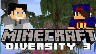 ELYTRA...  Minecraft DIVERSITY 3 #8 w/ Undecided