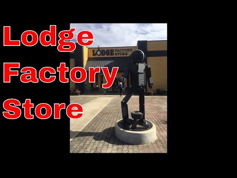 Shopping For Cast Iron Cookware At The Lodge Factory Store
