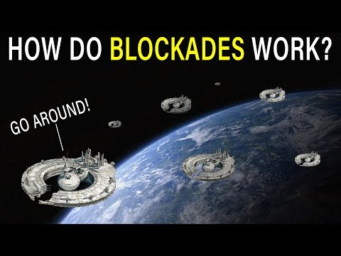 How do BLOCKADES work? Why not just go around? | Star Wars Lore