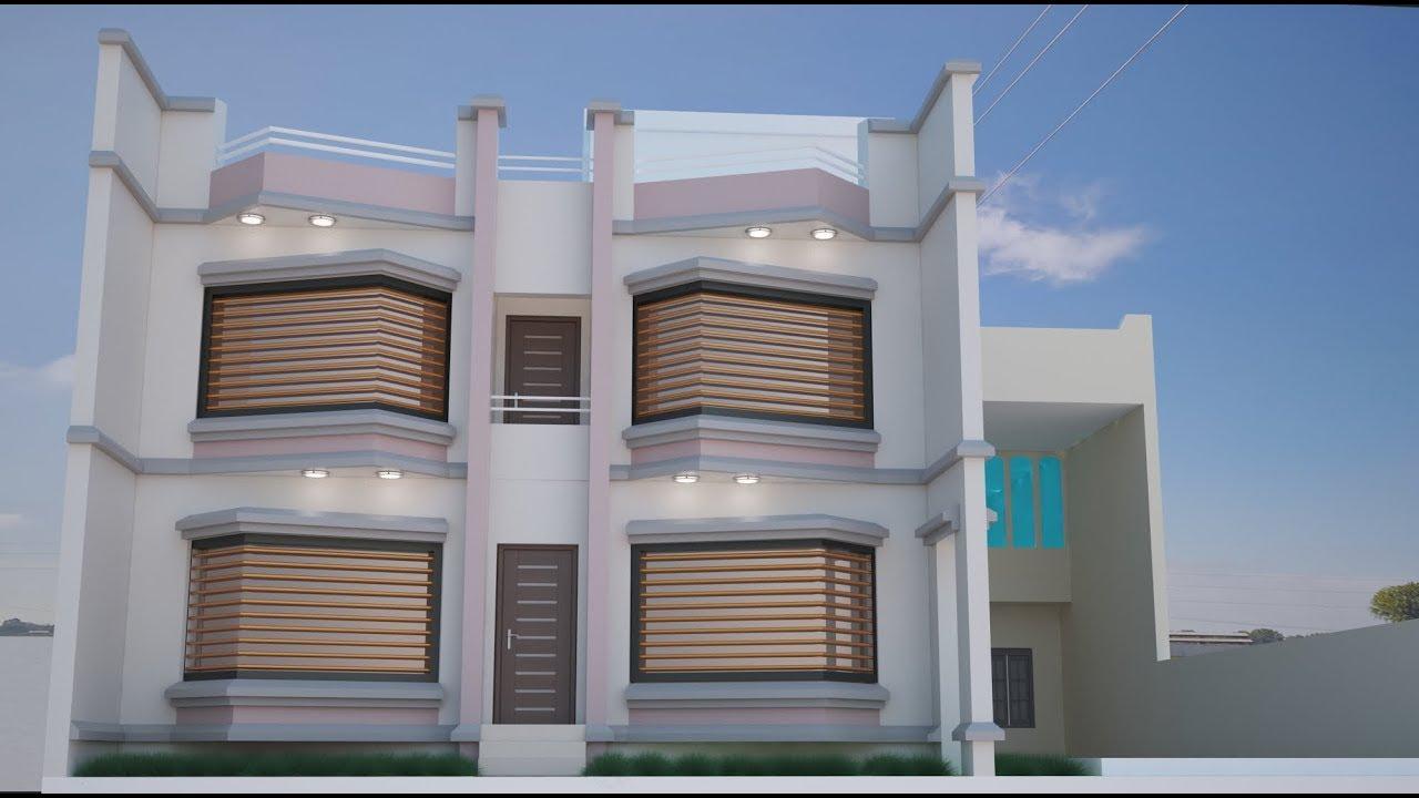 بيت 130 متر المعمار وليد عطية Youtube