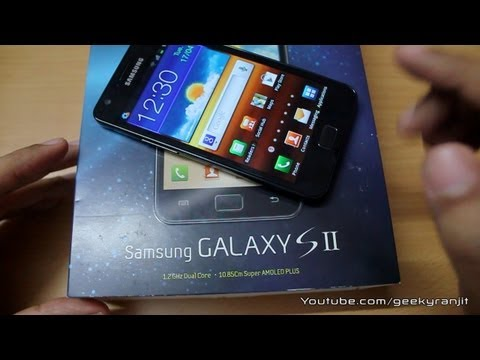 Samsung selling crippled version of Galaxy S2 in India