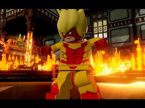 (Lego MARVEL Мстители)- СВОБОДНАЯ ИГРА ЧАСТЬ 1