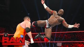 Apollo Crews vs. Curt Hawkins: Raw, April 24, 2017