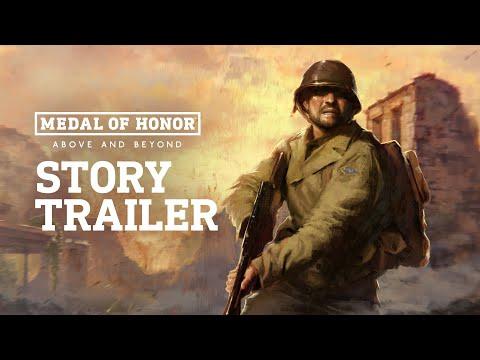 Medal of Honor: Above and Beyond   Story Trailer   Oculus Rift Platform