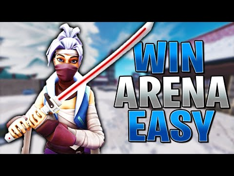 How To Win Arena Games EASY In Fortnite! (Fortnite Tips & Tricks)