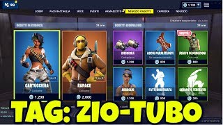 FORTNITE SHOP March 11 new LAUREATO skin IN MUNIZIONI, CARTUCCIERA and RAPACE