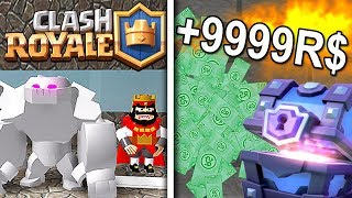 CLASH ROYALE EM ROBLOX! * SUPER ÉPICO *