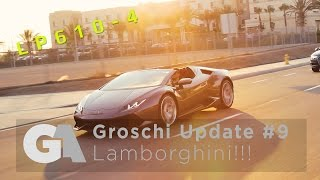 homepage tile video photo for LAMBORGHINI HURACAN SPYDER DELIVERY and NEW CAR PICK UP