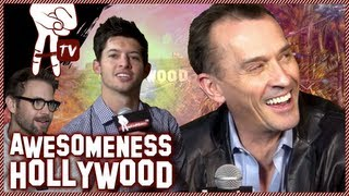 Exclusive Interview with Cult Stars Matt Davis and Robert Knepper - Awesomeness Hollywood