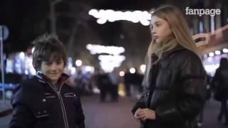 Реакция детей на просьбу ударить девушку