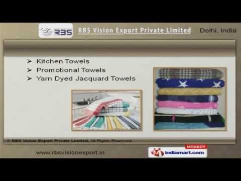 Towels & Bed Sheets by RBS Vision Export Private Limited, Delhi