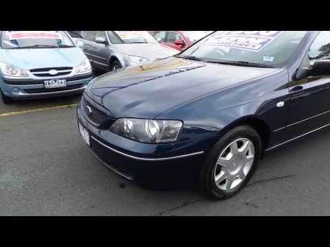Used 2004 Ford Falcon XT Ba For Sale (Car City Ringwood Victoria)
