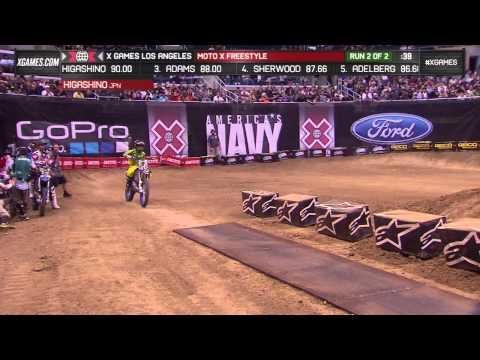 Higashino wins Moto X Freestyle