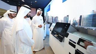 محمد بن راشد يفتتح المقر الرئيسي لمسرعات دبي للمستقبل