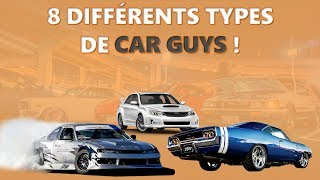 LES 8 TYPES DE CARGUYS !