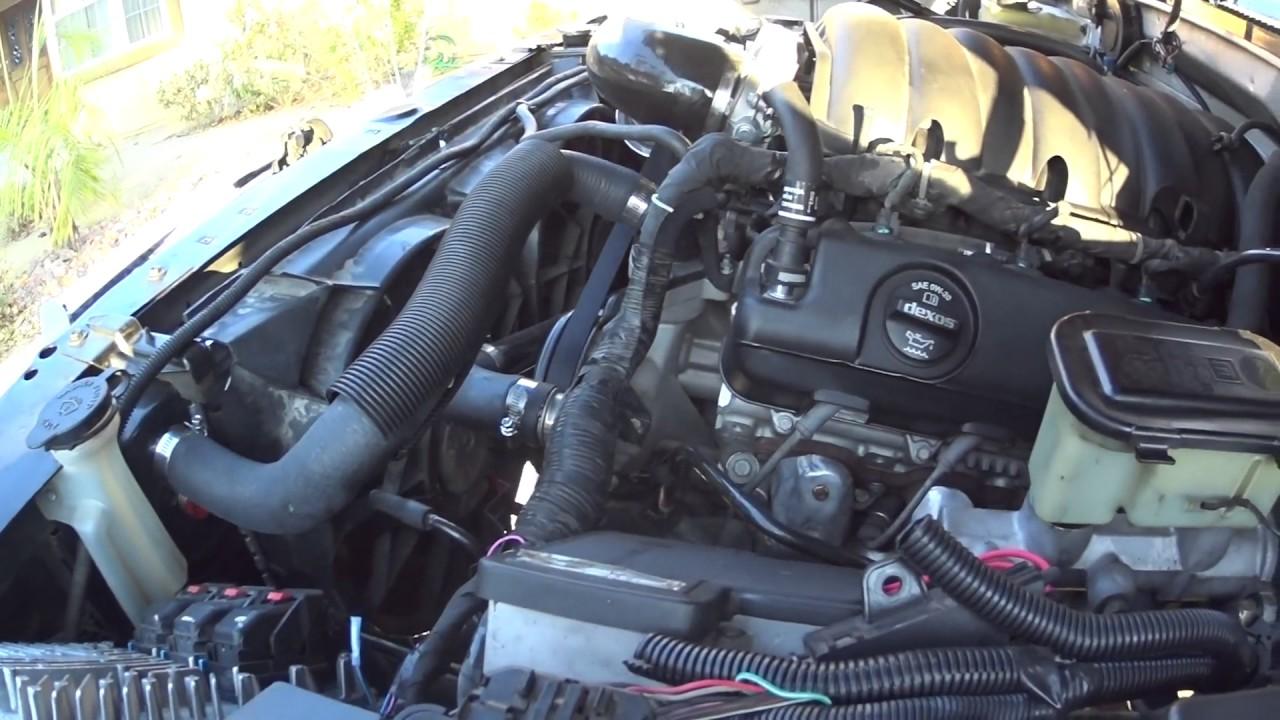 1996 OBS two door Tahoe L83 Engine Swap Vid #2 - YouTube