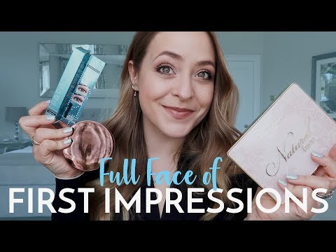 Full Face of FIRST IMPRESSIONS | Fleur De Force