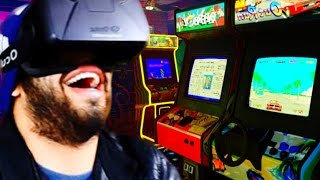 WARNING: AMAZEBALLS! | Gaming Arcade In VIRTUAL REALITY | Oculus Rift DK2