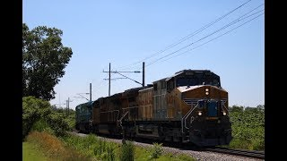 GE Testing Union Pacific's New AC44C6M Rebuild on the GE Test Track