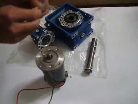 Industriemotoren 15000N.cm Großer Schneckengetriebemotor funktionsweise worm gear motor industrielle