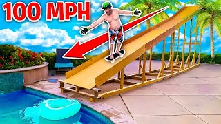 I can't believe I did this... **100 MPH RAMP**