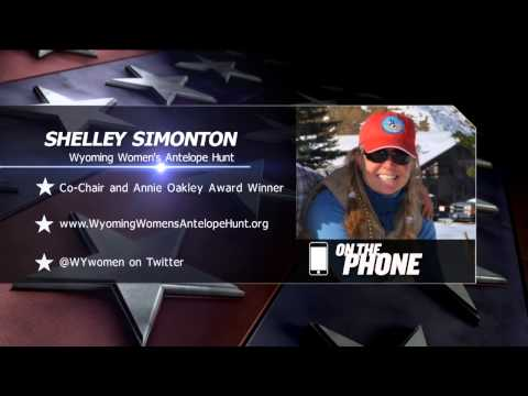 Donna Wichers and Shelley Simonton on the Wyoming Women's Antelope Hunt