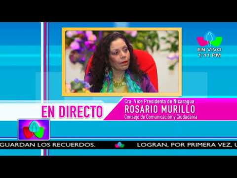 Comunicación con la Vicepresidenta Compañera Rosario Murillo, 20 de Abril 2018