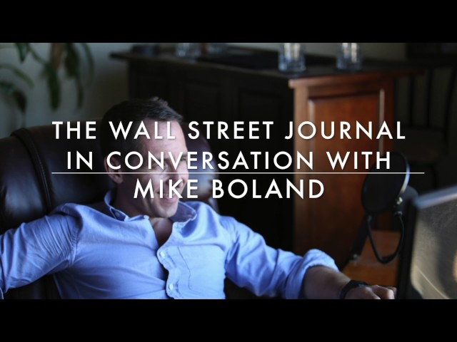 Mike Boland: WSJ Radio