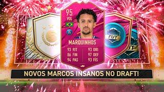 NOVOS OBJETIVOS INSANOS NOS MARCOS + MARQUINHOS FUTTIES + PLAYER PICK MOMENTS! FIFA 21 Ultimate Team