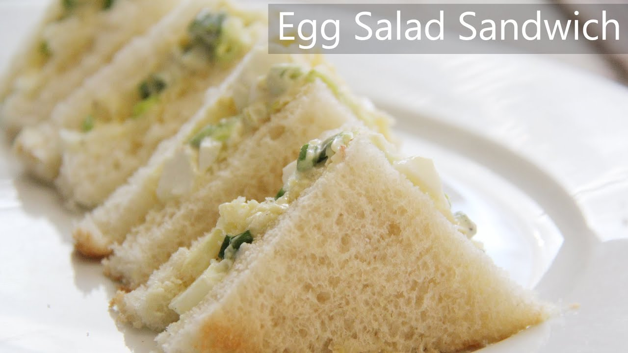 Egg Sandwich Recipe Egg Salad Sandwich Recipe Indian Healthy Breakfast Ideas And Egg Recipes Youtube