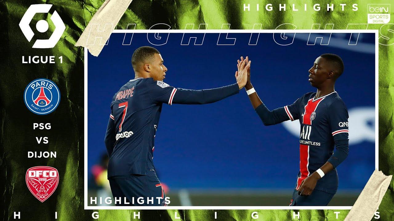 Download PSG 4 - 0 Dijon - HIGHLIGHTS & GOALS - (10/24/2020)