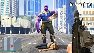Thanos KIDNAPPED My GIRLFRIEND In GTA 5!