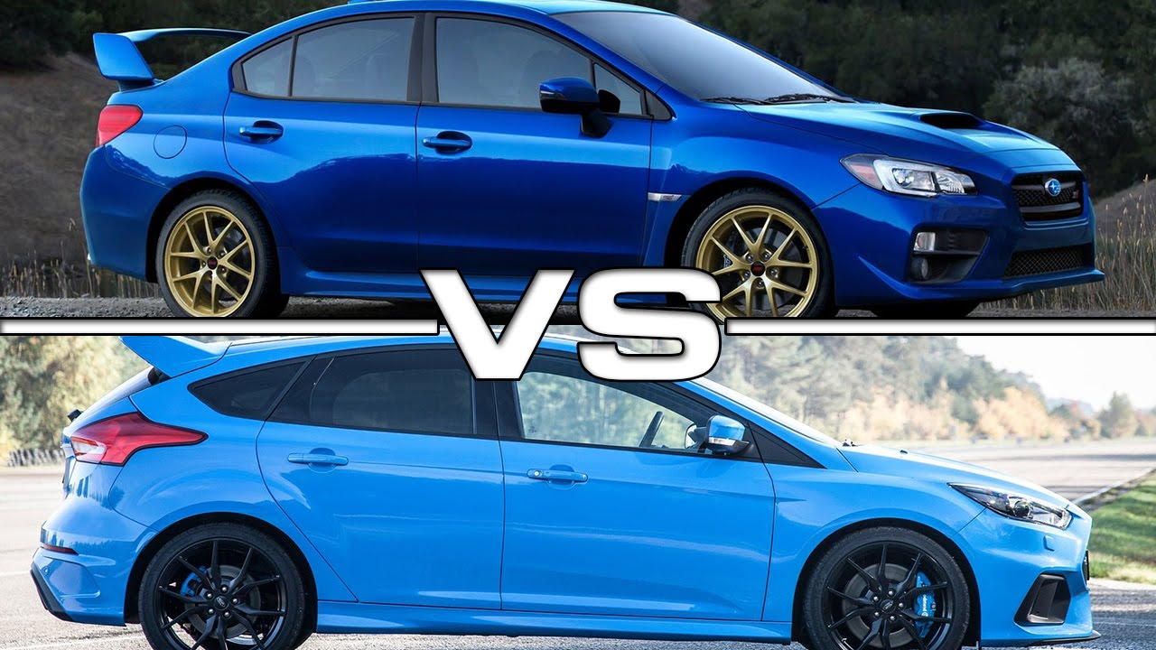 subaru wrx sti vs ford focus rs youtube. Black Bedroom Furniture Sets. Home Design Ideas