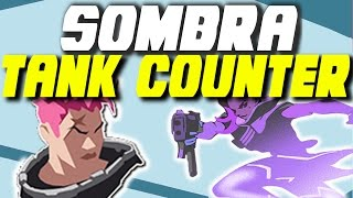 OP COUNTER TO TANK META!!   Sombra Ult Team Coordination Combo - Overwatch Competitive Strategy