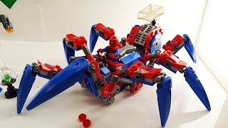 Spider-Man LEGO sets display at Toy Fair 2019