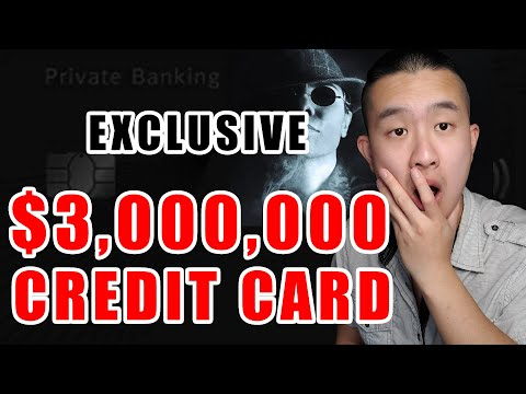 TOP 3 MOST EXCLUSIVE CREDIT CARDS IN CANADA