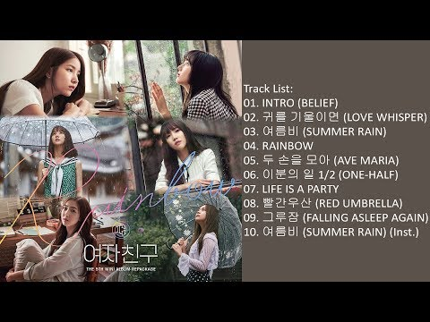 [Mini Album] GFRIEND –  RAINBOW
