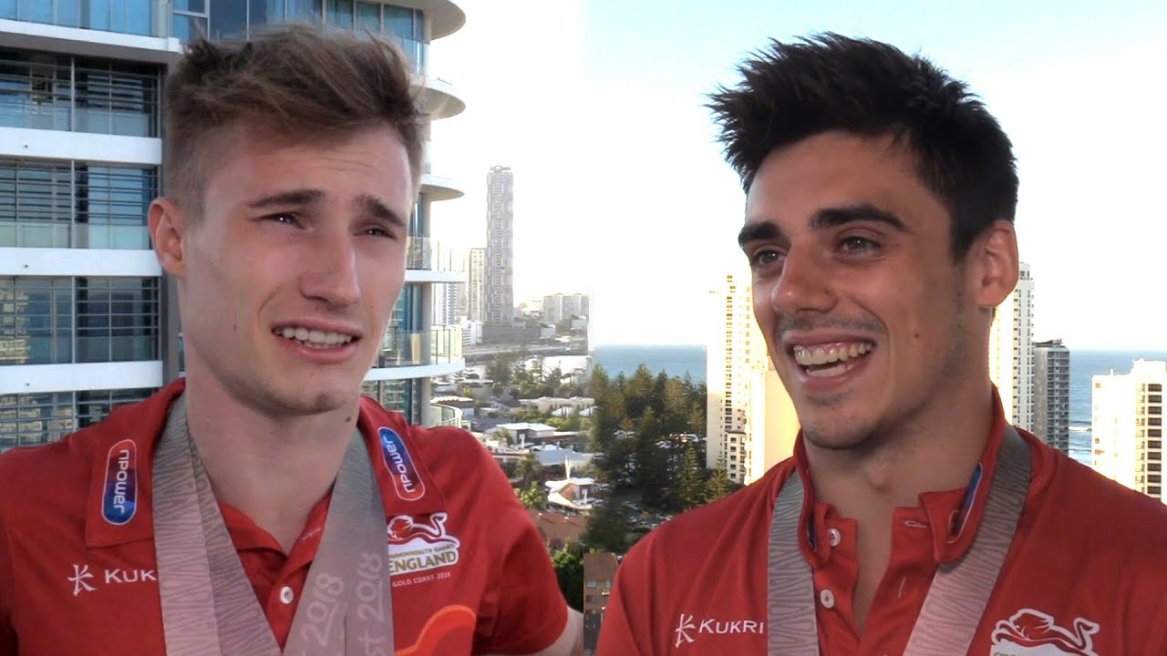 Interviews With Team England's Jack Laugher & Chris Mears ...
