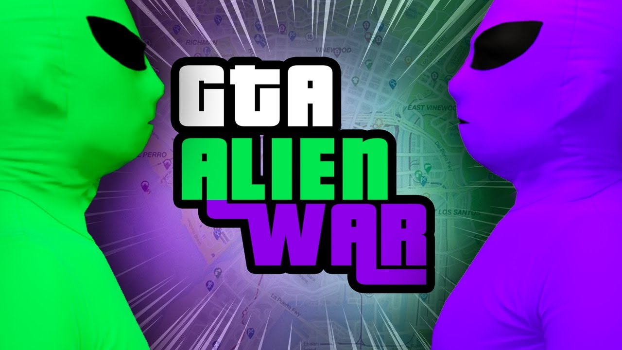 Green Versus Purple: The Alien Gang War que secuestró a GTA Online + vídeo