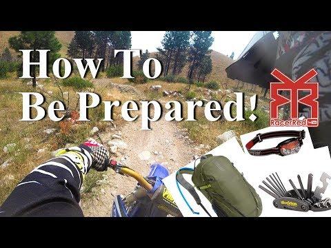 What To Bring On A Dirt Bike Ride - Enduro Etiquette