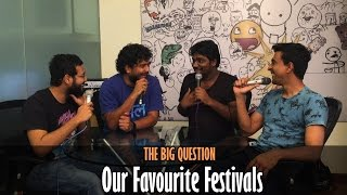 SnG: What Are Our Favourite Festivals? Ft Zakir Khan | The Big Question Episode 27 | Video Podcast