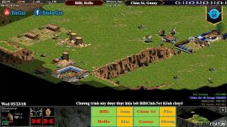 C5T5 AoE 22 Random BiBi, HeHe vs Chim Sẻ Đi Nắng, Gunny Ngà 23-05-218